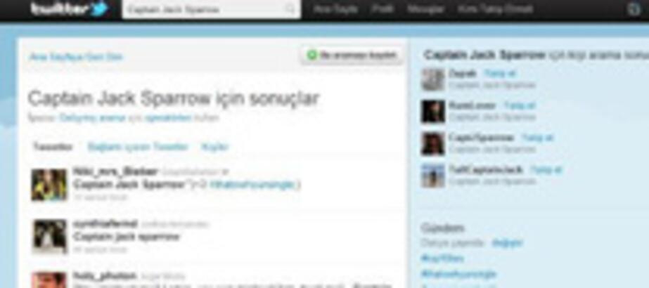 Twitter'da Jack Sparrow Çılgınlığı
