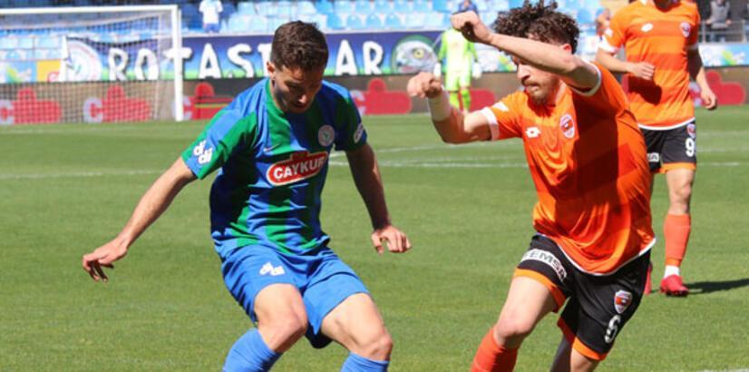 Çaykur Rizespor-Adanaspor: 1-1