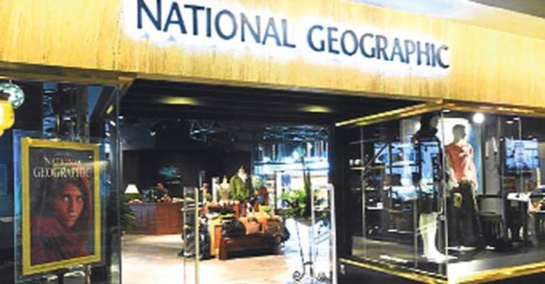 National Geographic mağazaları geliyor
