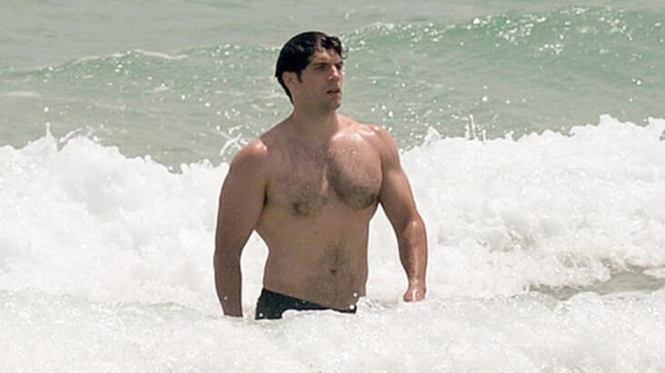 'Superman'in Miami tatili