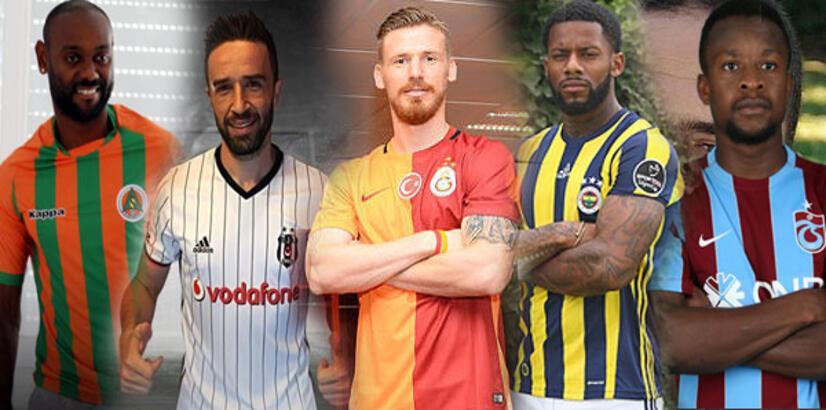 Süper Lig'de isim isim gelen ve giden transferler