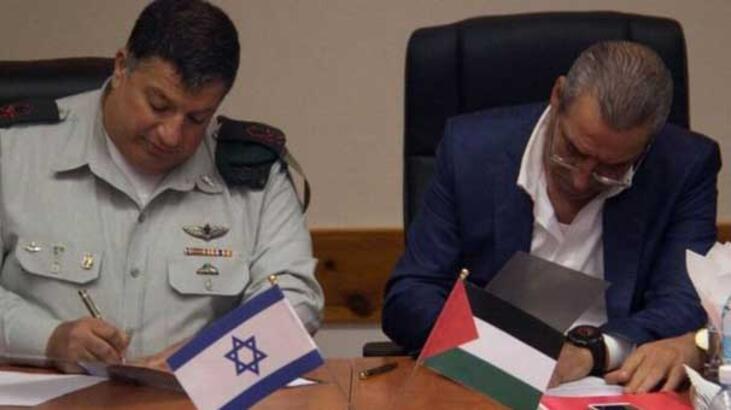 İsrail ile Filistin anlaşma imzaladı