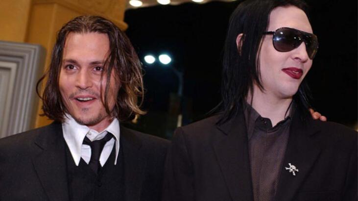 Marilyn Manson'dan Johnny Depp'e destek
