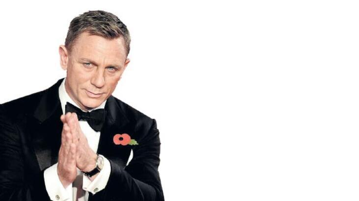 Craig kaçıyor  Bond kovalıyor