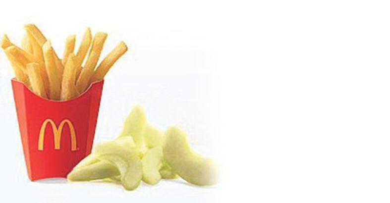 Yeni ikili: Hamburger-elma
