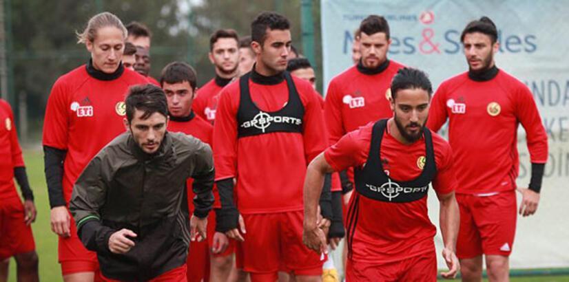 Eskişehirspor'da Elazığspor maçı hazırlıkları