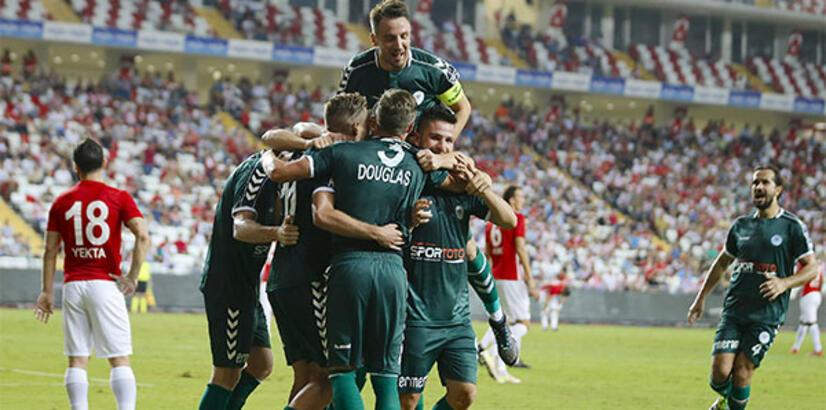 Konyaspor'un futbolcuları Avrupa'ya yabancı değil