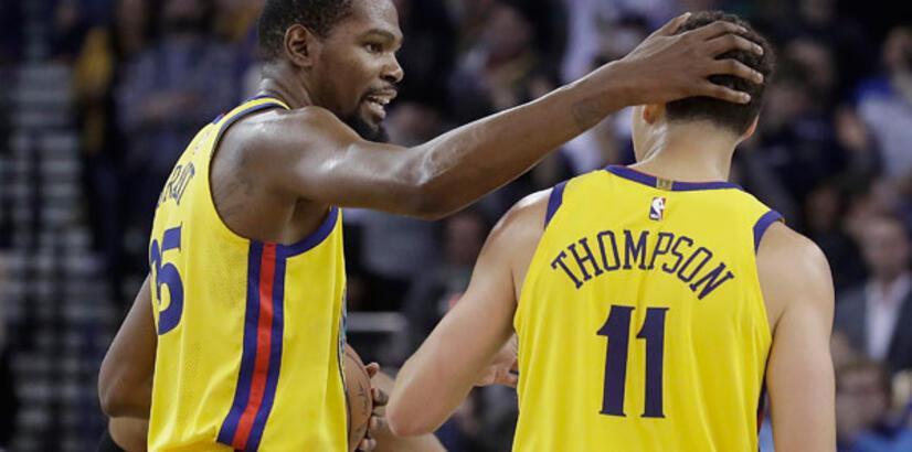 Warriors, Durant ile kazandı