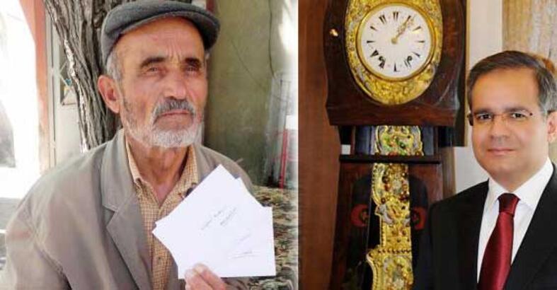 Vali tarihi saati götürdü köylüler geri istiyor