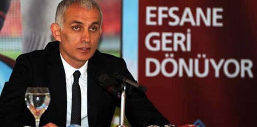 Trabzonspor'da devir teslim töreni yapıldı