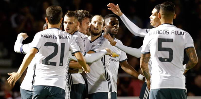 Northampton Town - Manchester United: 1-3