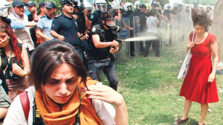 Taksim Gezi Parkı'nın sembolü oldu