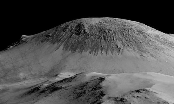 Mars'ta sıvı halde su bulundu! Google Mars'ı Doodle yaptı