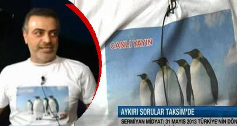CNNTürk'ü tişörtüyle vurdu!