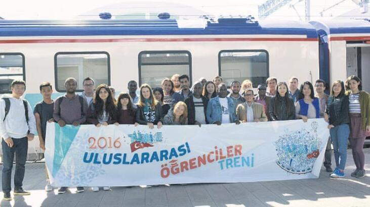 Uluslararası Öğrenci Treni, yollarda