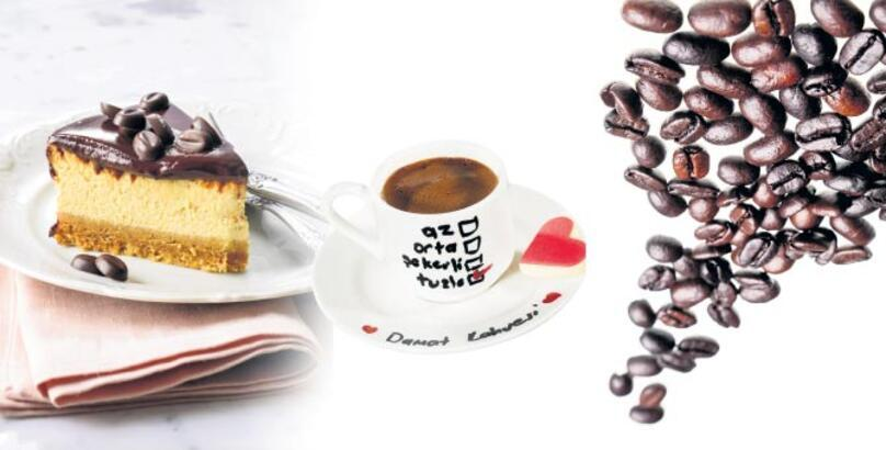 İçinden  kahve geçen tatlılar
