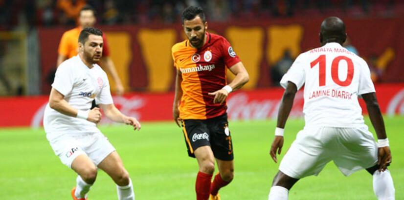Galatasaray, Antalyaspor'u 3 golle geçti (Maç özeti)