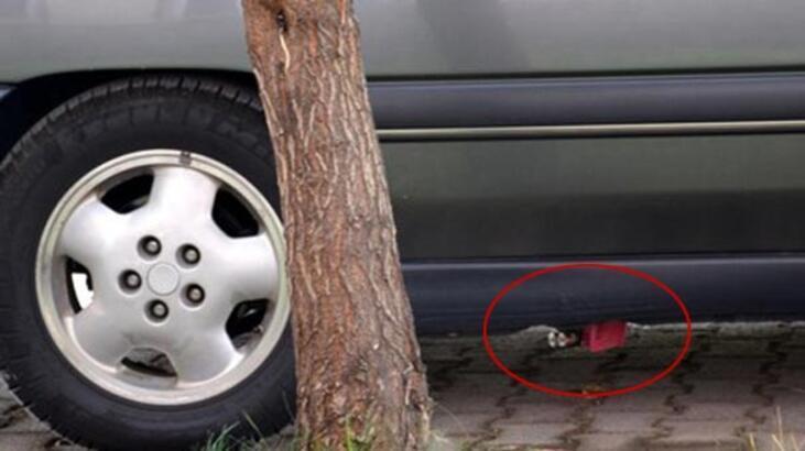 Kaymakam'ın aracına bomba konmuş!