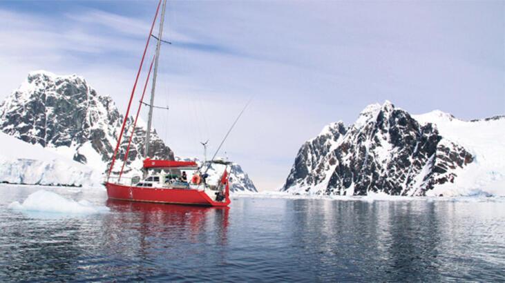 Bilim Türk bayrağını  Antarktika'ya dikecek!