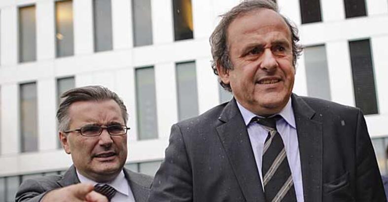 Platini'nin ifadesine başvuruldu