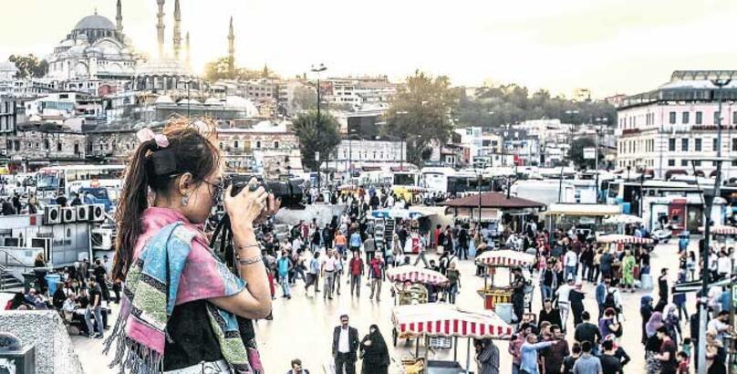 """""""İstanbul'u çekiyorum bir gözüm kapalı"""""""