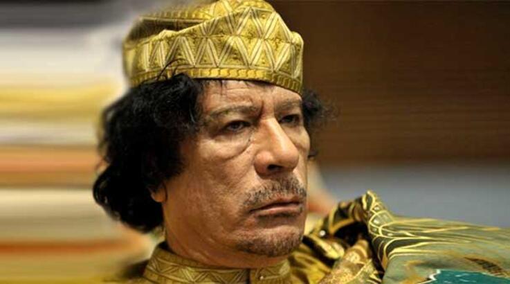 Kaddafi'yi yakalayan askere bakın ne hediye ettiler?