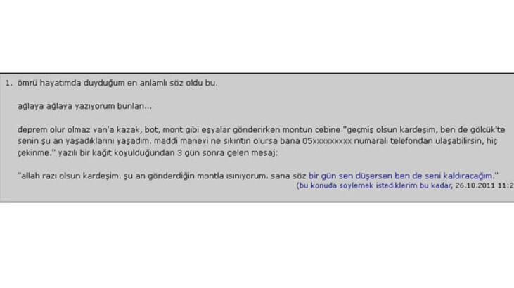 Türkiye'nin konuştuğu yazı
