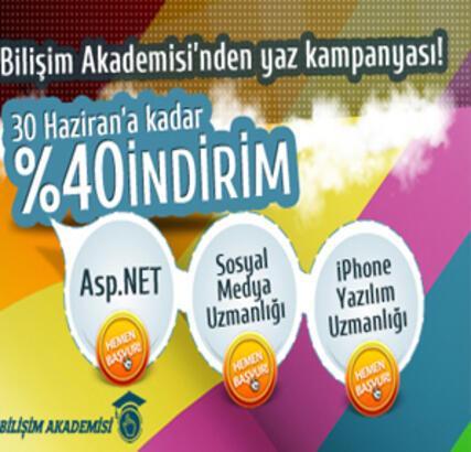 Türkiye'nin ilk online Bilişim Akademisi açıldı