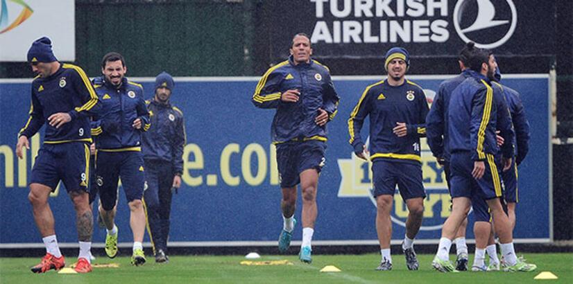 Fenerbahçe'de Galatasaray maçının hazırlıkları başladı
