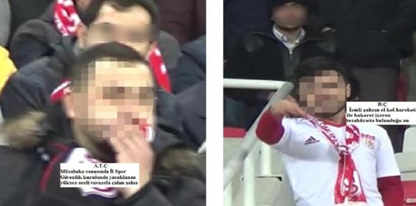 Sivas'ta 2 taraftara 'Vuvuzela' cezası