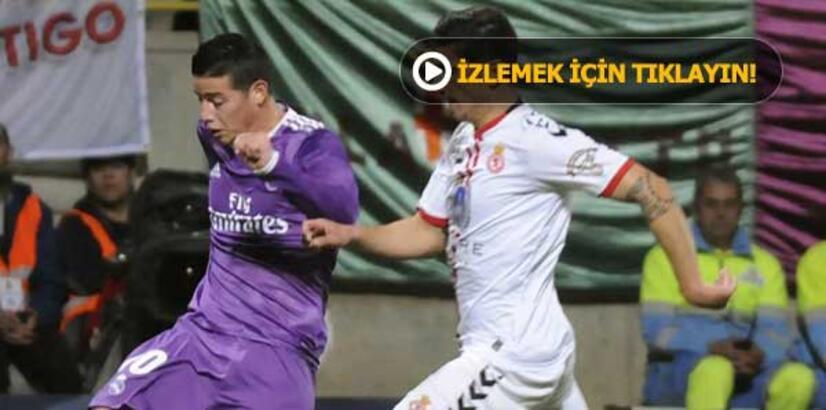 Cultural y Deportiva Leonesa-Real Madrid: 1-7
