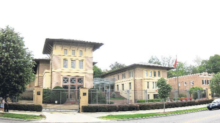 Türk Büyükelçiliği de dinlenmiş