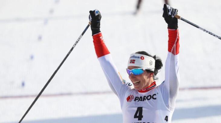 Norveçli kadın sporcu Bjoergen 14 madalyayla kış olimpiyatları rekoru kırdı