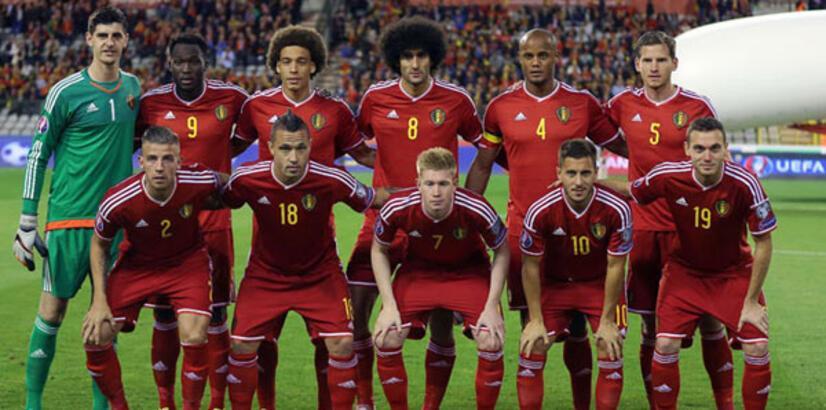 Belçika Milli Takımı'nın kadrosu açıklandı