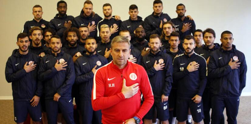 Antalyaspor'dan Afrin'de görevli uzman çavuşa forma