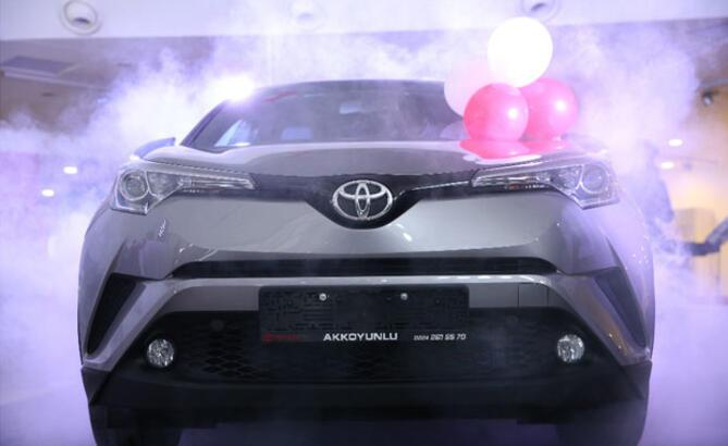 Toyota C-HR, Bursa OtoShow'da tanıtıldı!