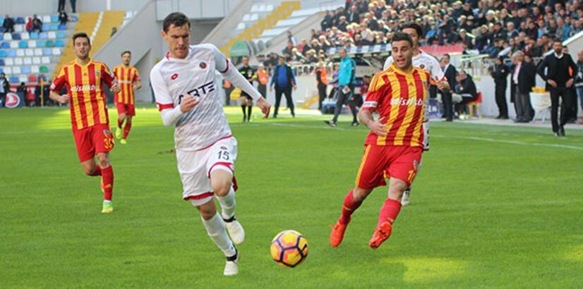 Kayserispor-Gençlerbirliği: 0-2