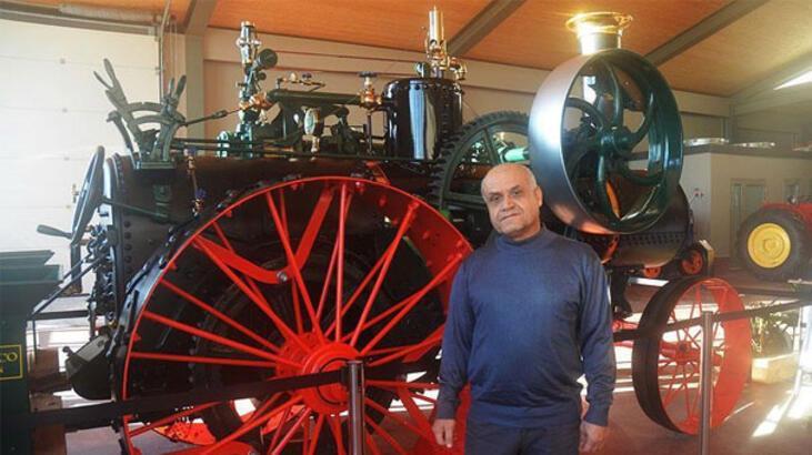 Antika Traktör Müzesi'ne ziyaretçi akını
