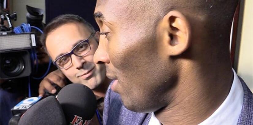 """Kobe Bryant: """"Hido'nun kariyeri fantastik"""""""