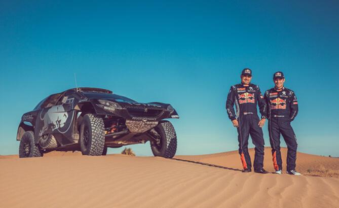 Peugeot 2016 Rally Raid programında Sébastien Loeb Resmi Pilot Oldu