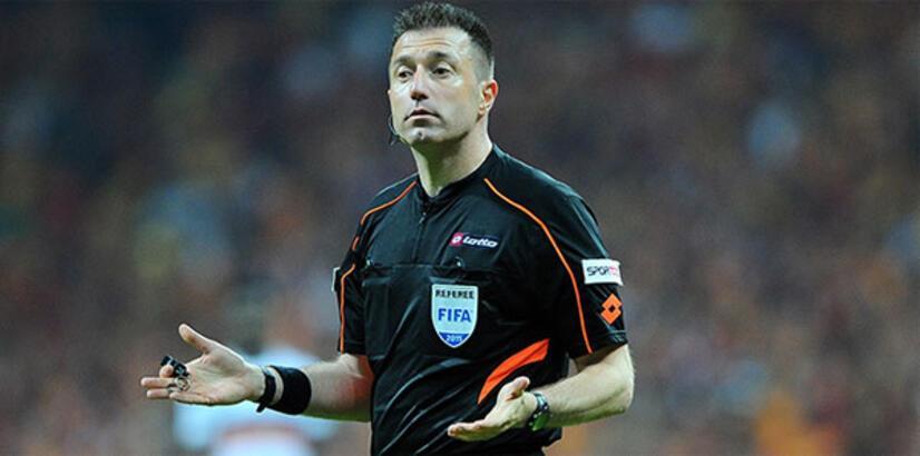 UEFA'dan Hüseyin Göçek ve Ali Palabıyık'a görev