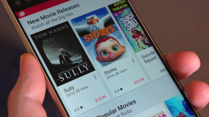Google Play Filmler'den kullanıcılarına 4K içerik