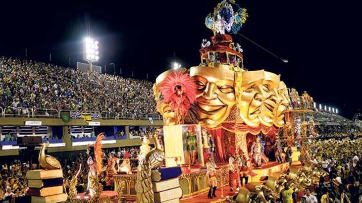 Tüm renkleriyle Rio Karnavalı