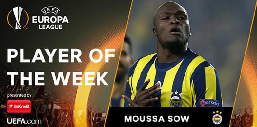 Haftanın oyuncusu Moussa Sow!