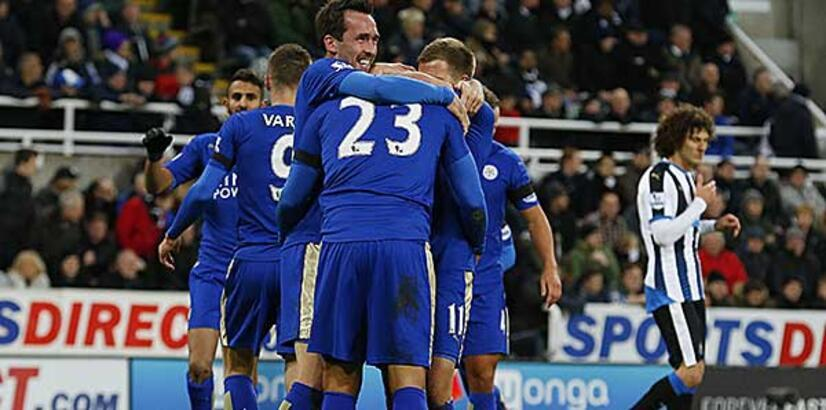 Premier Lig'in sürprizi Leicester City