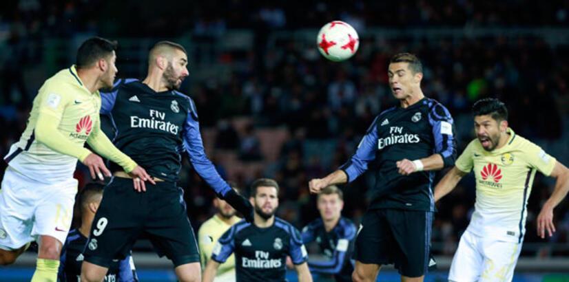 Real Madrid 2 - 0 Club America