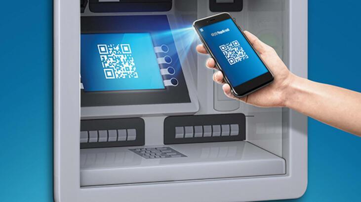 ATM'ye dokunmadan para çekin