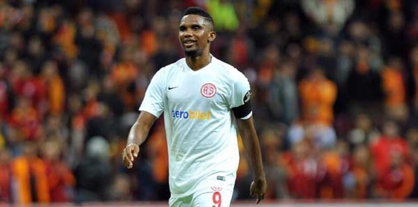Antalyaspor beraberliğe, Eto'o gollere abone!