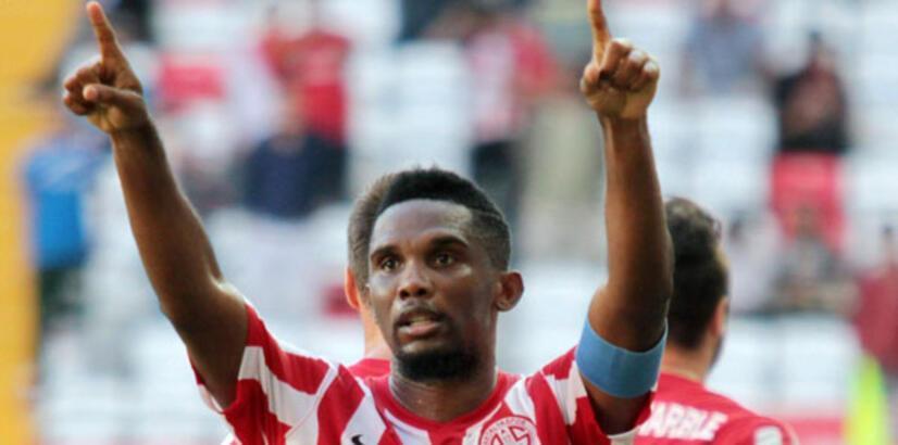 Eto'o Antalyaspor'un kasasını doldurdu
