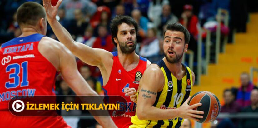 CSKA Moskova 79 - 95 Fenerbahçe